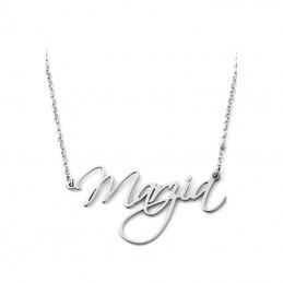 Collana con nome in argento...