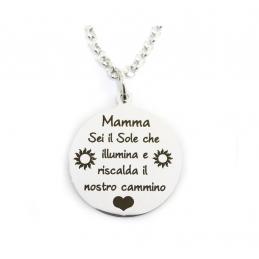 """Collana""""Mamma sei il sole..."""