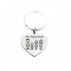 Portachiavi Family con...